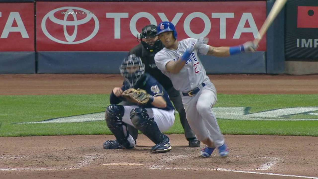 Russell's RBI single