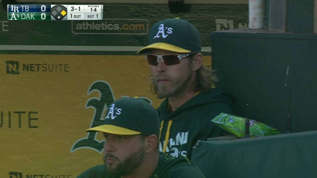 Reddick scratched vs. Rays with sore back