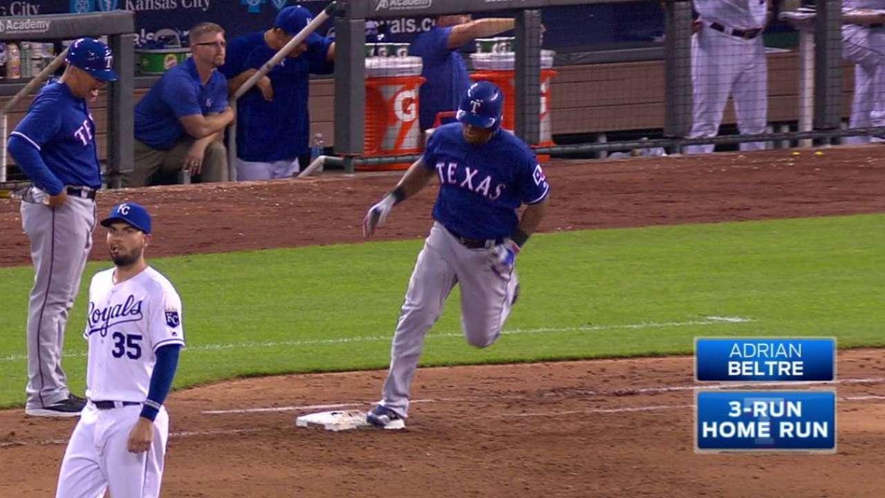 Beltre's three-run home run