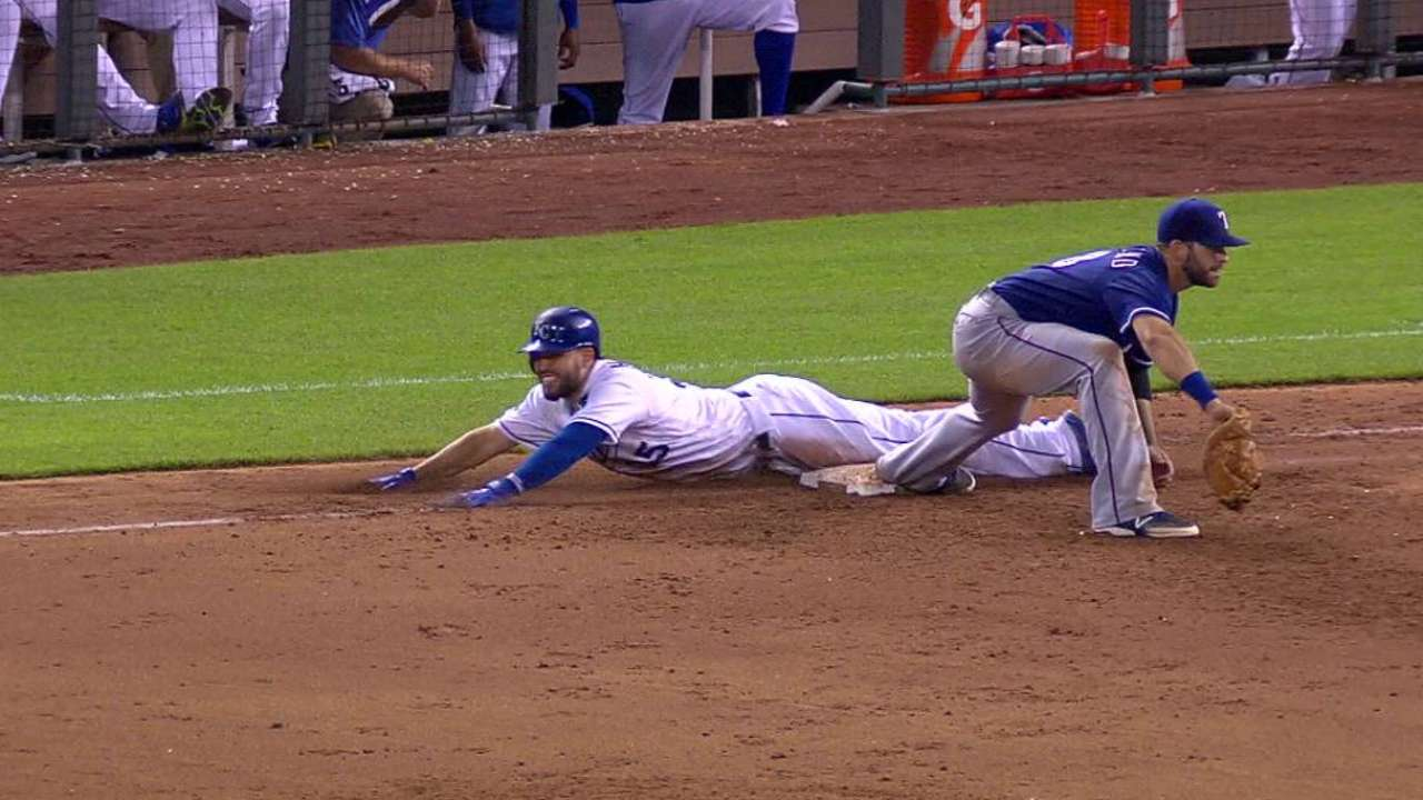 Royals challenge out call