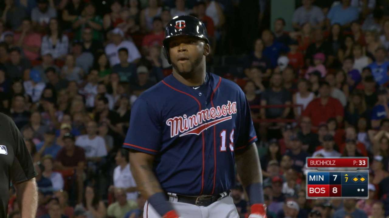 This time, Twins' offense picks up pitchers