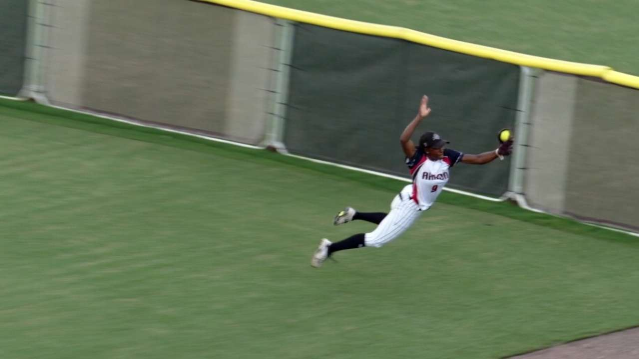 Andrews' spectacular catch