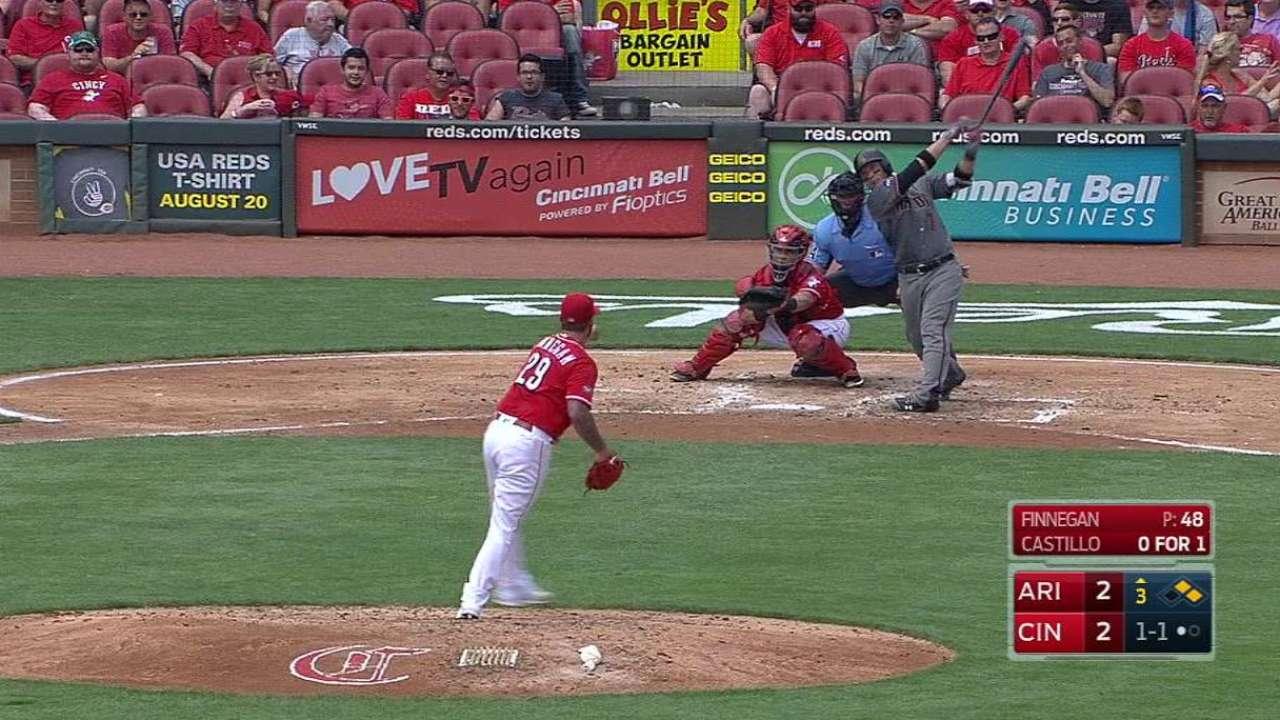 Castillo's three-run home run