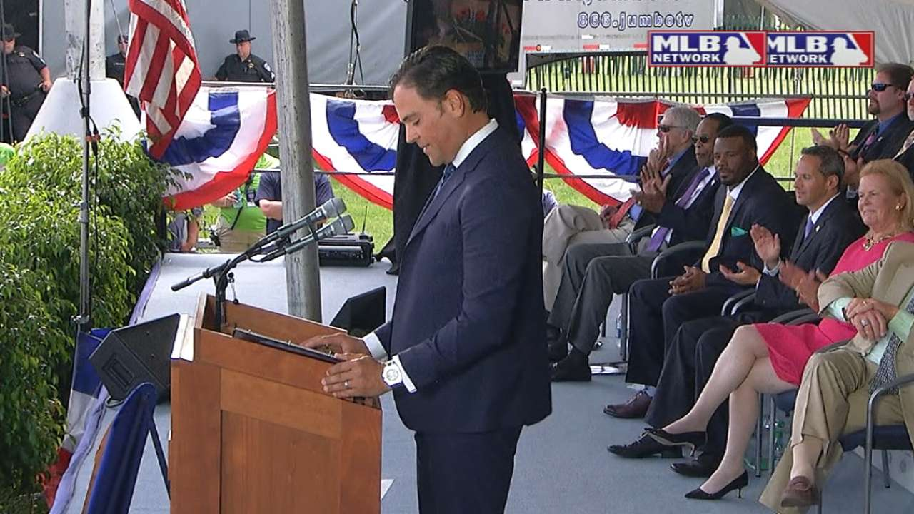 Piazza delivers opening remarks