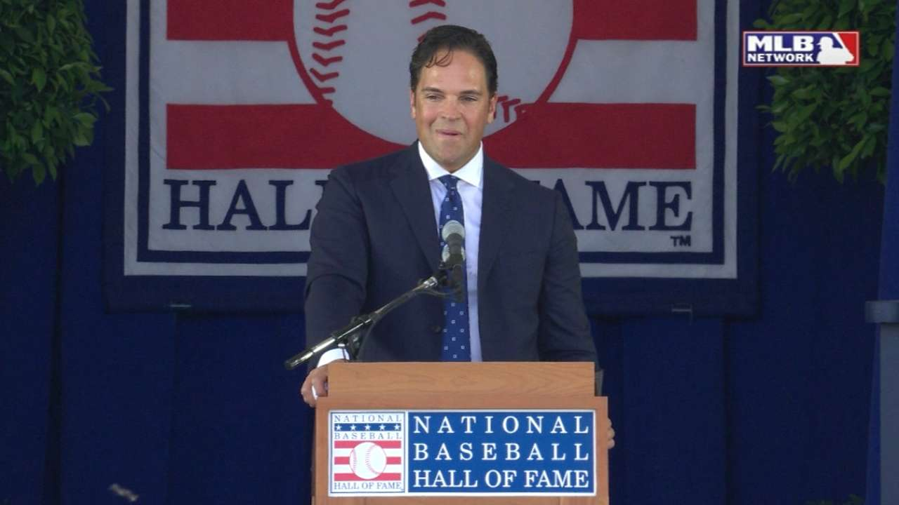Piazza on year with the Padres
