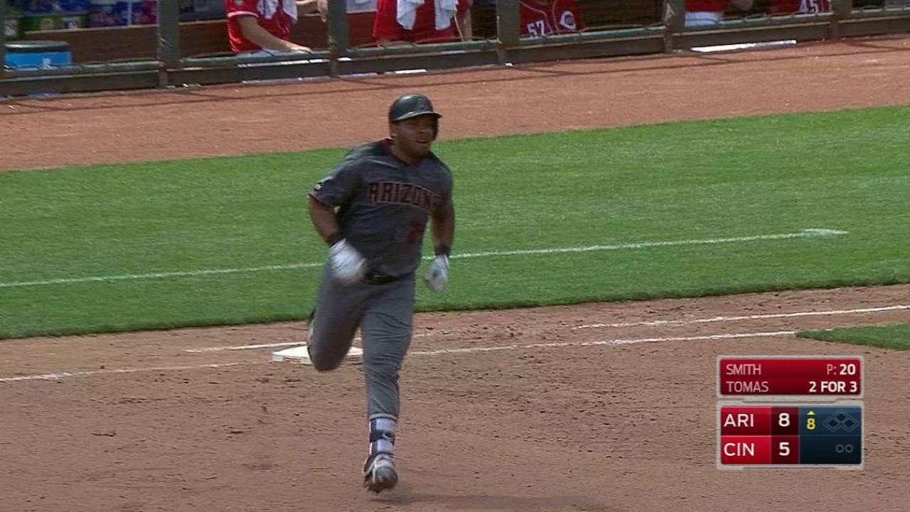 Tomas' second homer