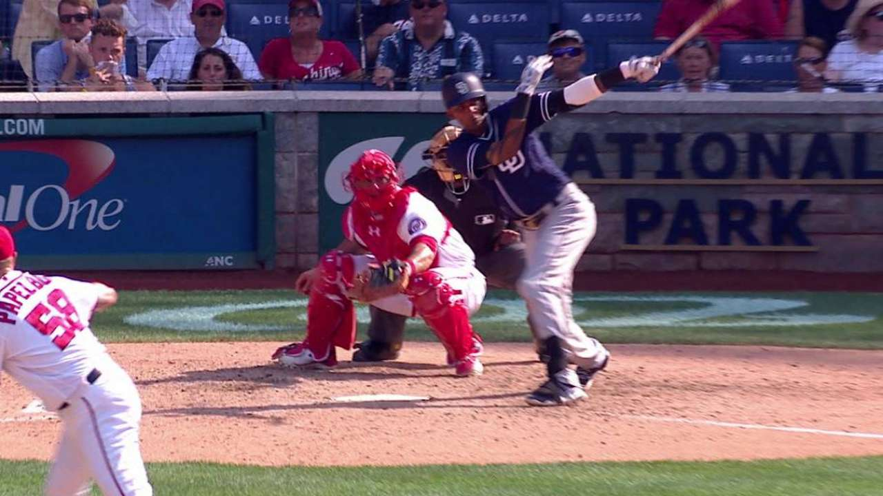 Padres storm past Nationals late in slugfest