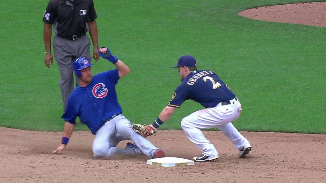 Brewers' double play confirmed