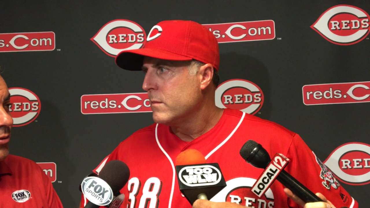 Reds see positives after successful homestand