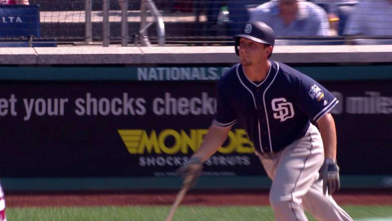 Dickerson's solo home run