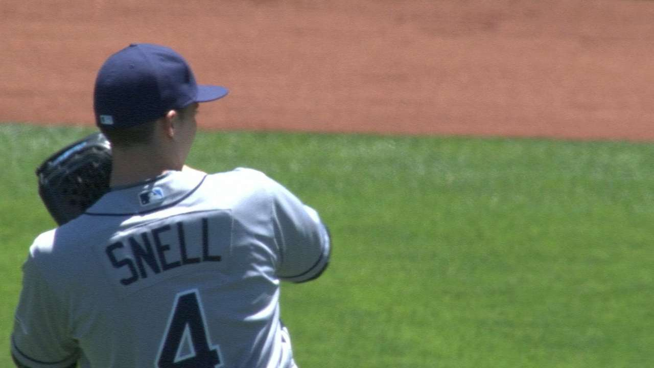 Snell keeps Rays' rotation on stellar roll