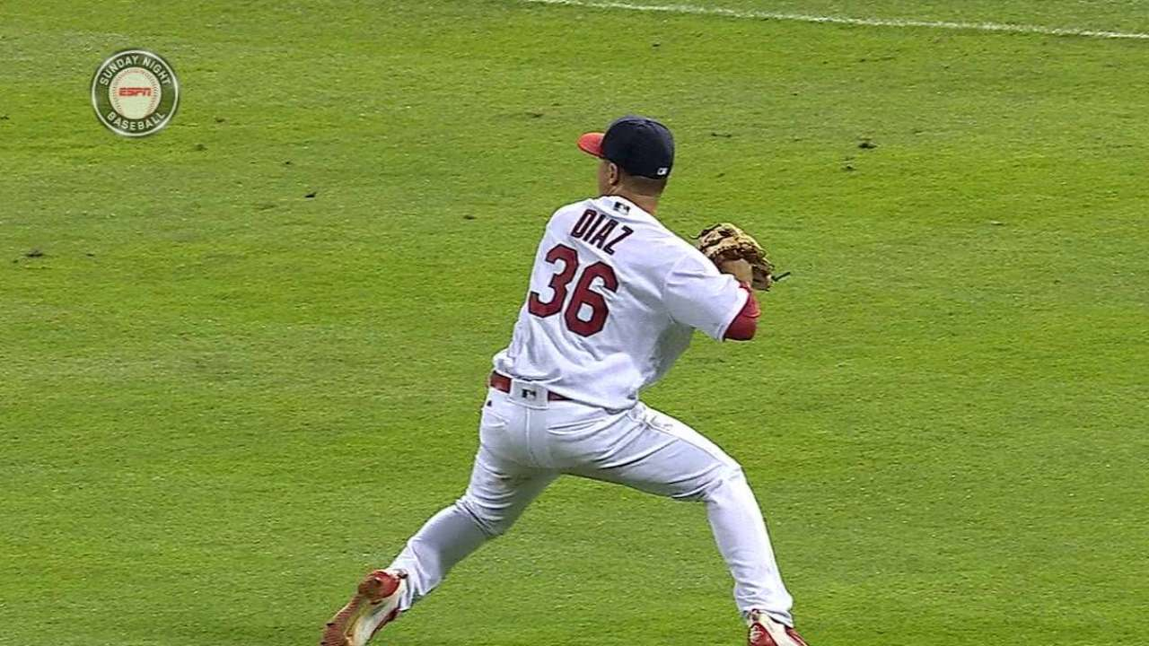 Diaz's sliding catch