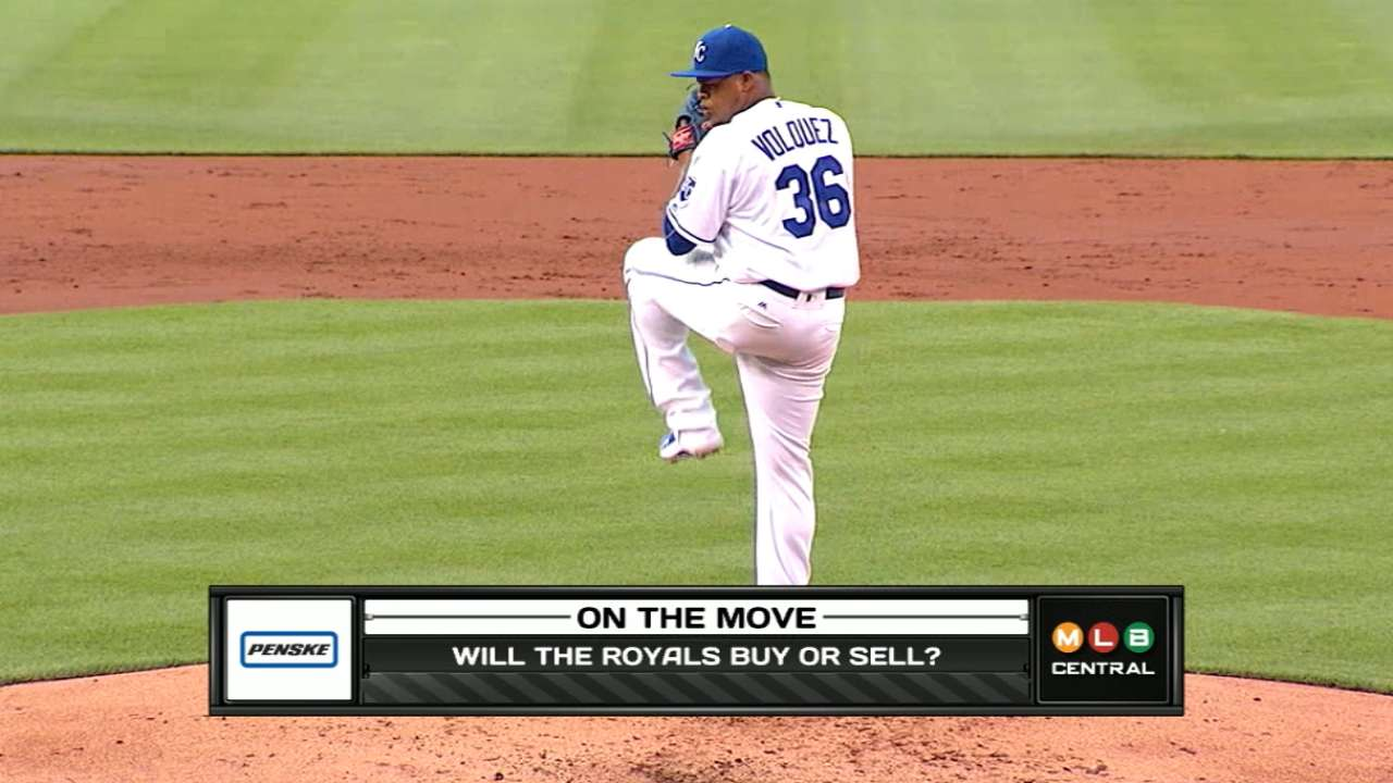 Royals weighing offers for Davis, Volquez