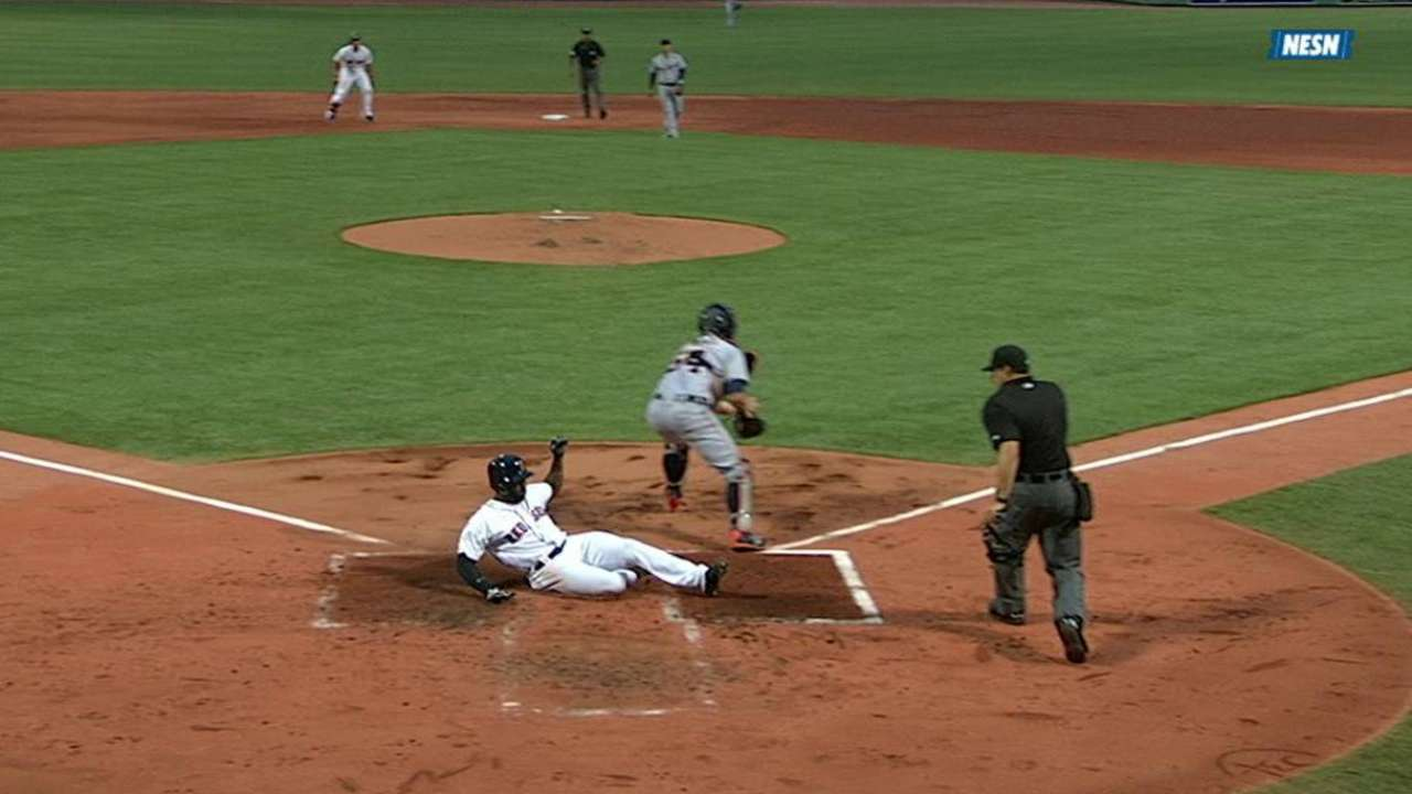 Timely hit missing as Red Sox fall to Tigers