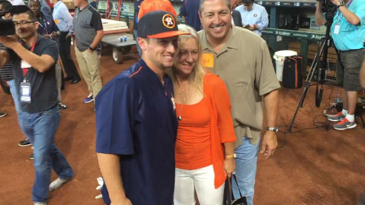 Bregman's parents proud of son
