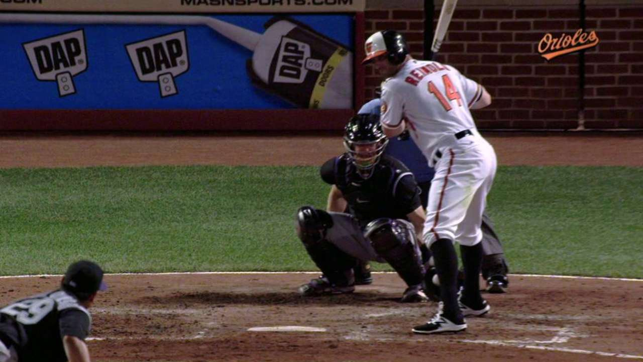 Reimold takes first after HBP