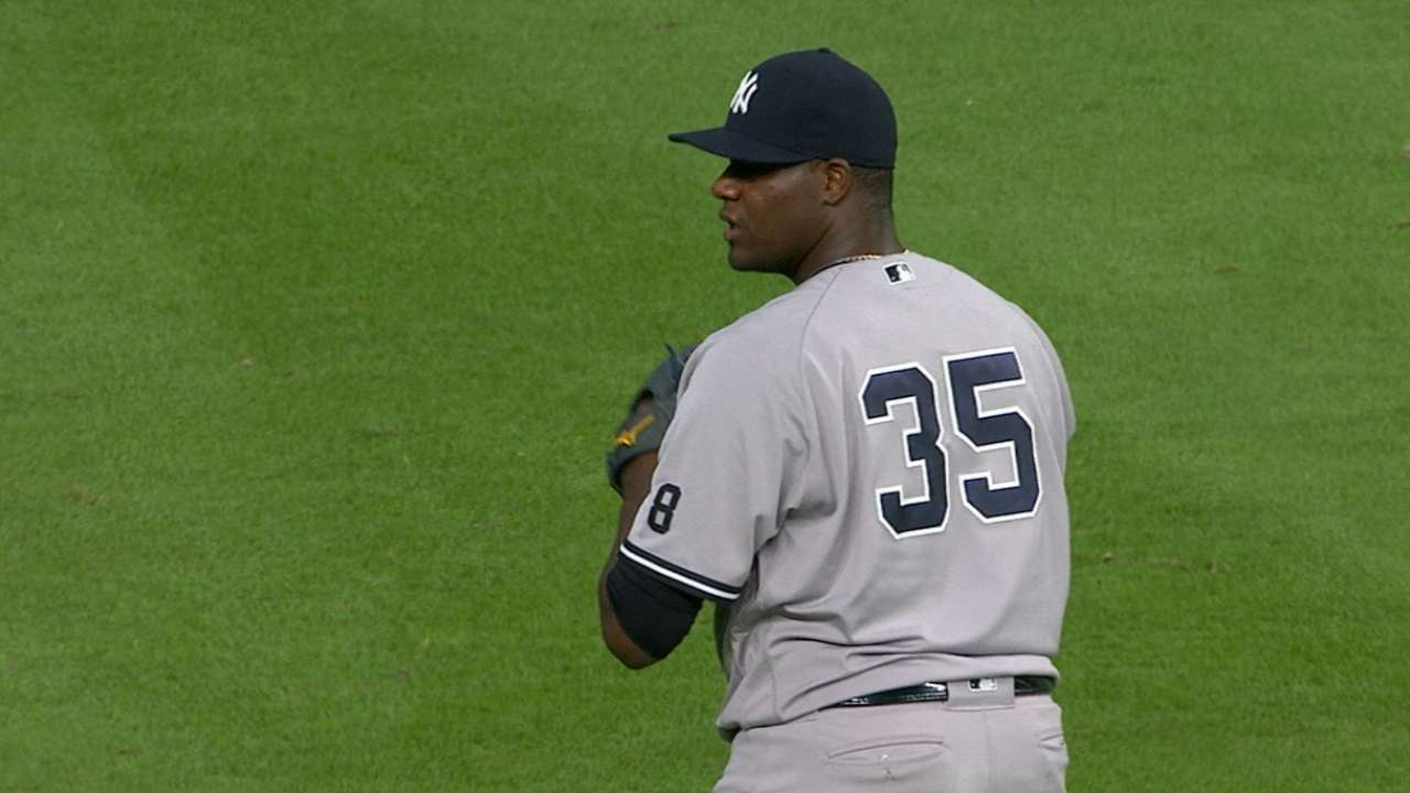 Michael Pineda y Yankees superan a Astros a domicilio