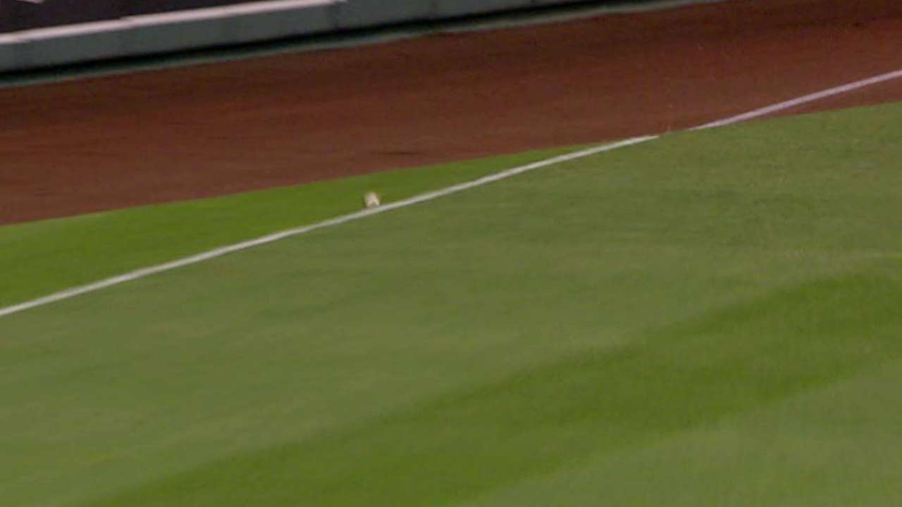 Angels challenge foul call