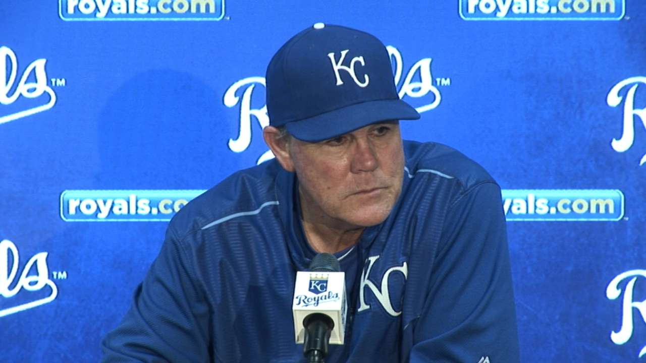 Yost on loss to Angels