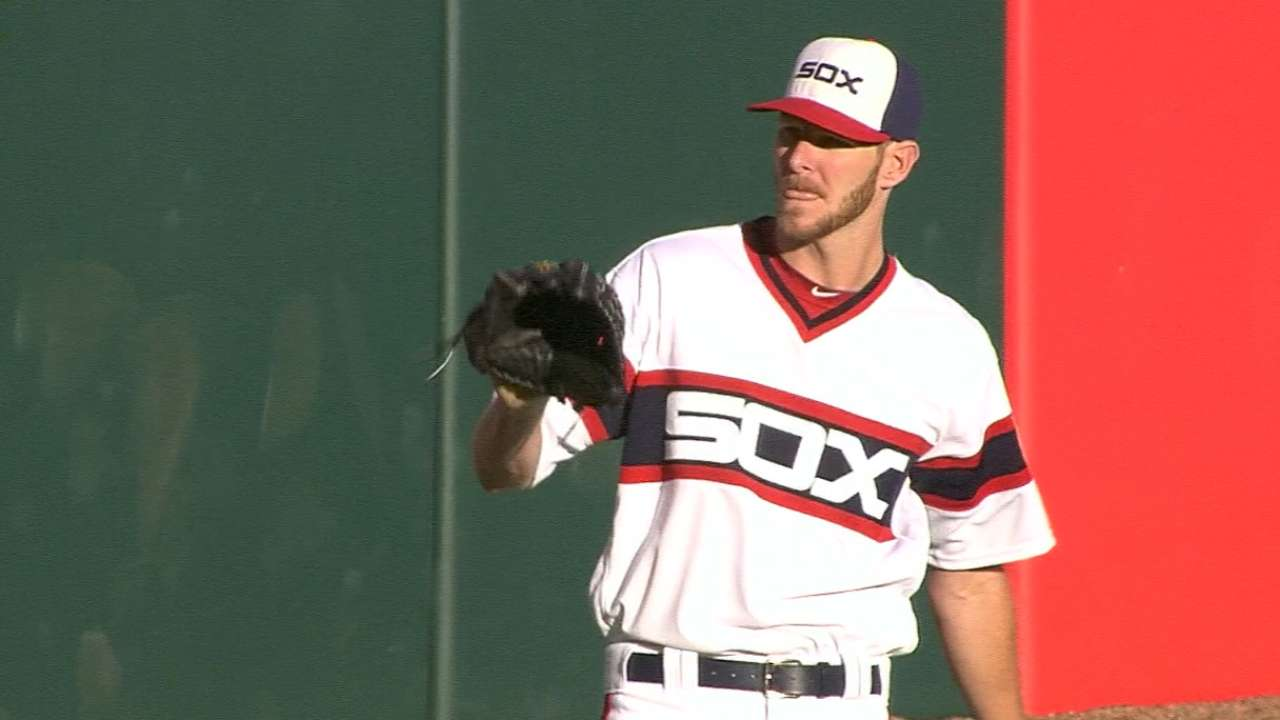White Sox Activate Sale From Suspension for Start vs Cubs