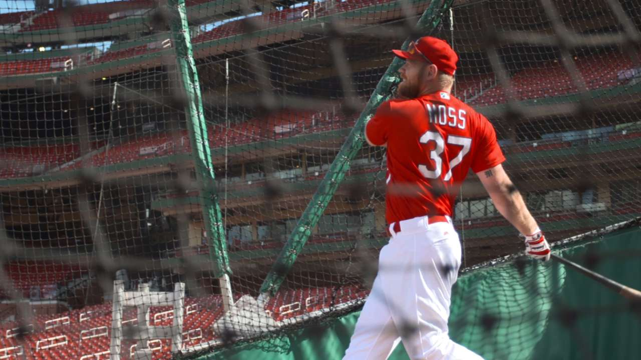Cards on verge of getting Moss, Peralta, Carp back