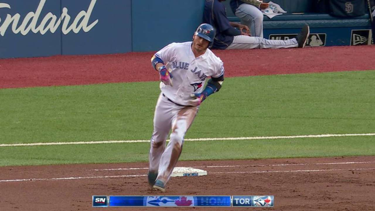 Donaldson's two-run homer