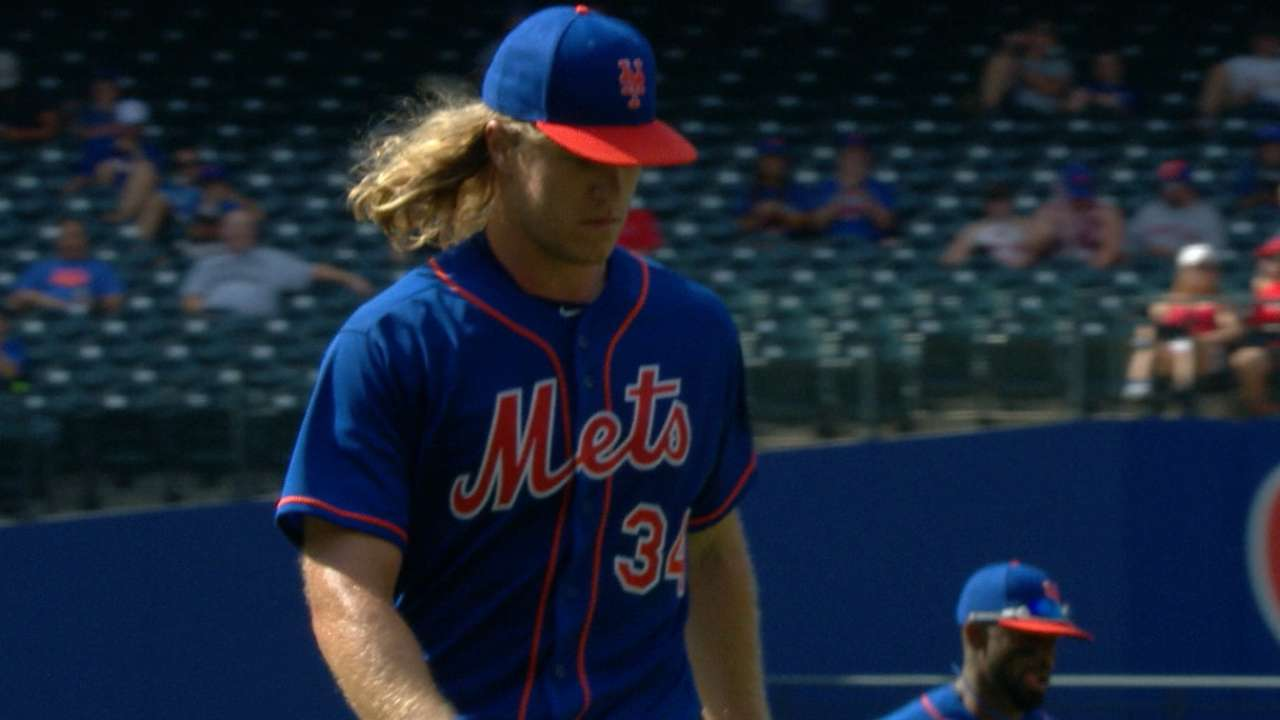 Syndergaard's six solid frames
