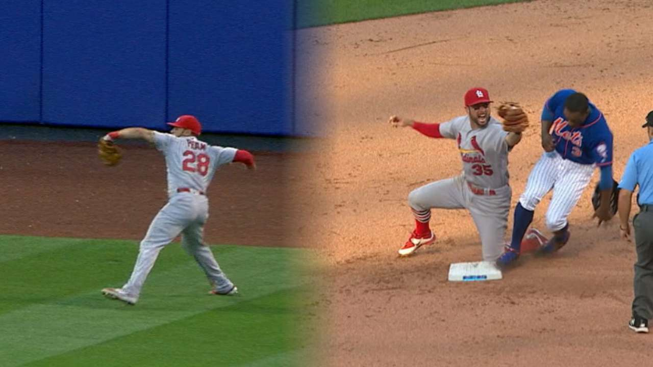 Must C: Pham's strong throw