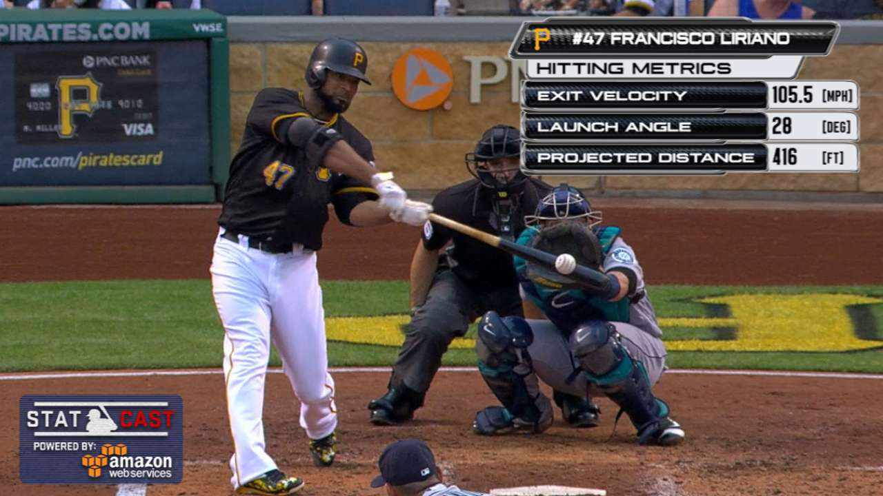 Liriano is 1st pitcher to homer off King Felix
