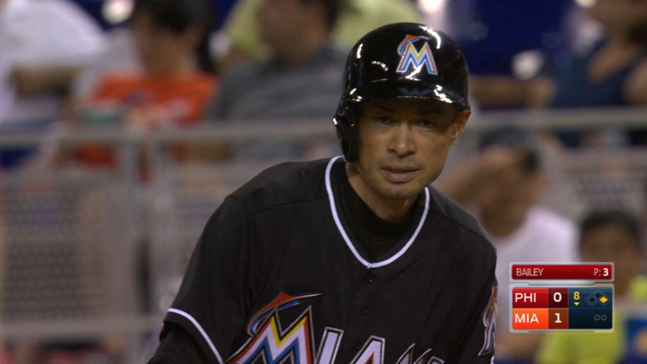 Ichiro's perseverance paying off in chase for 3,000 hits