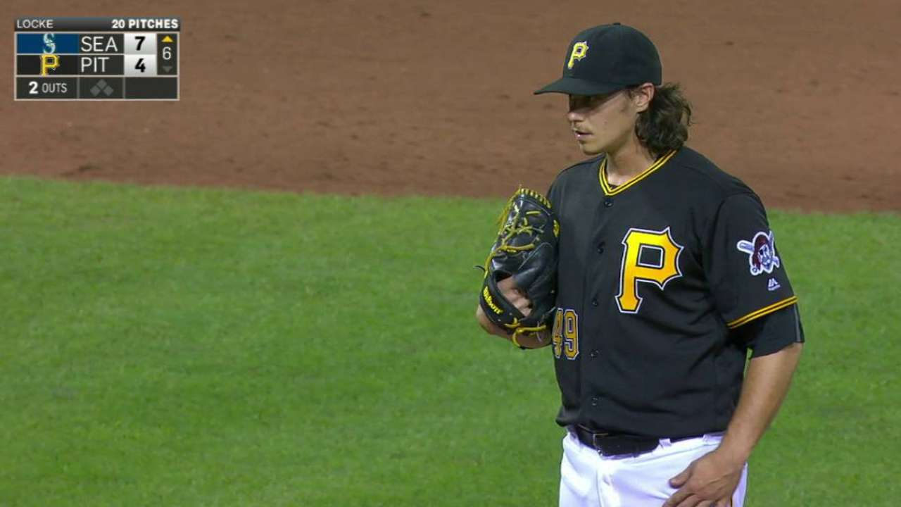 Locke uncertain of future with Pirates