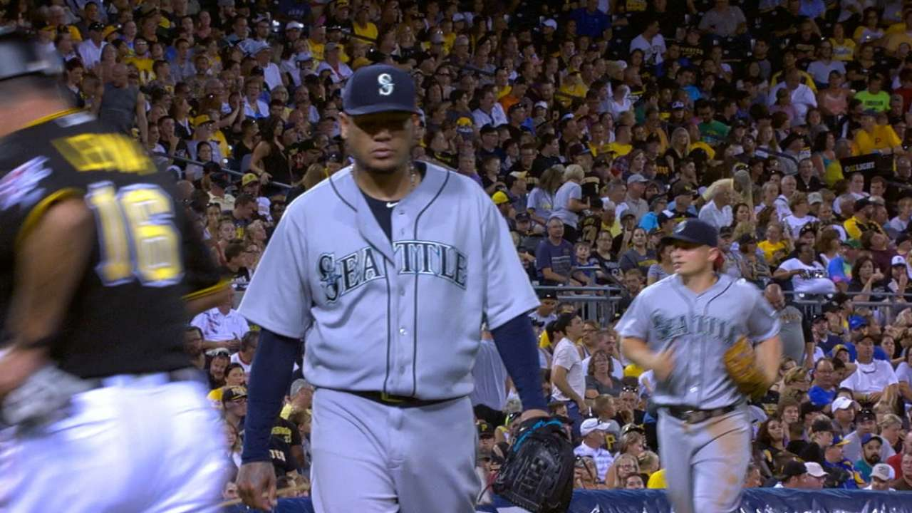 Felix not yet at top form following long layoff