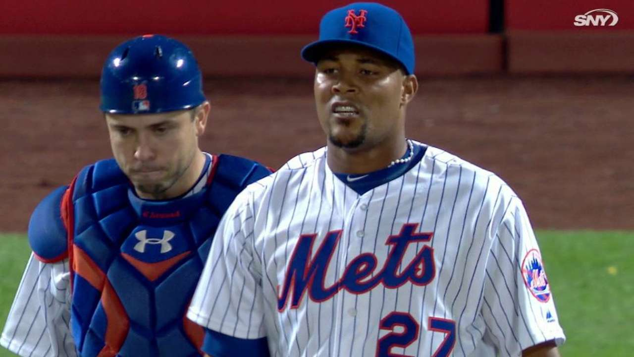 Familia earns save in the 9th