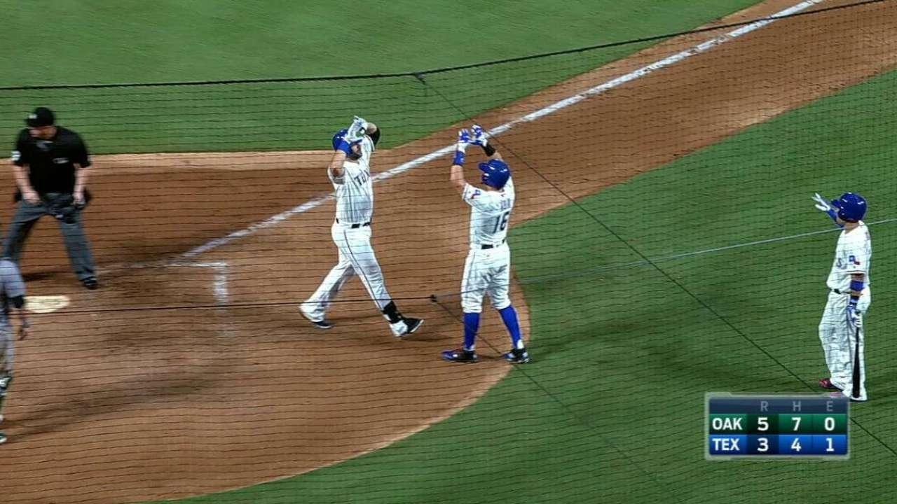 Moreland's two-run homer