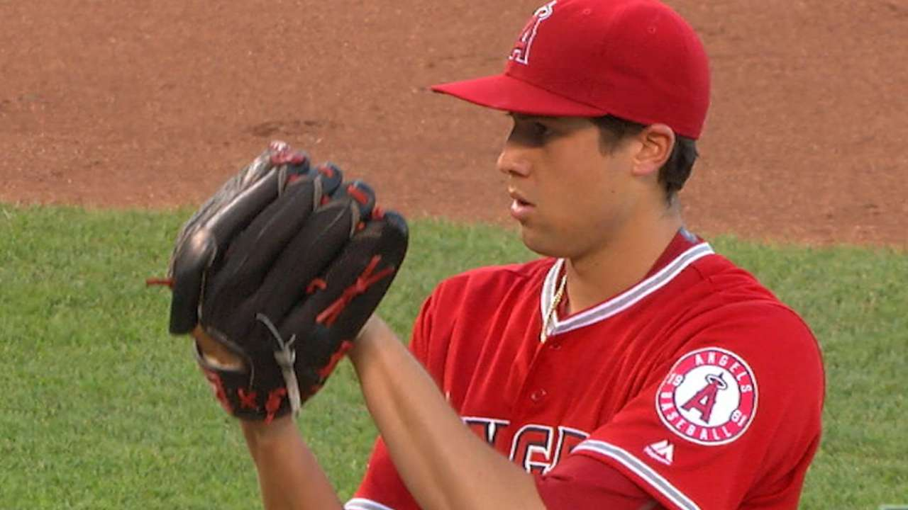 Skaggs quite a success story against Royals