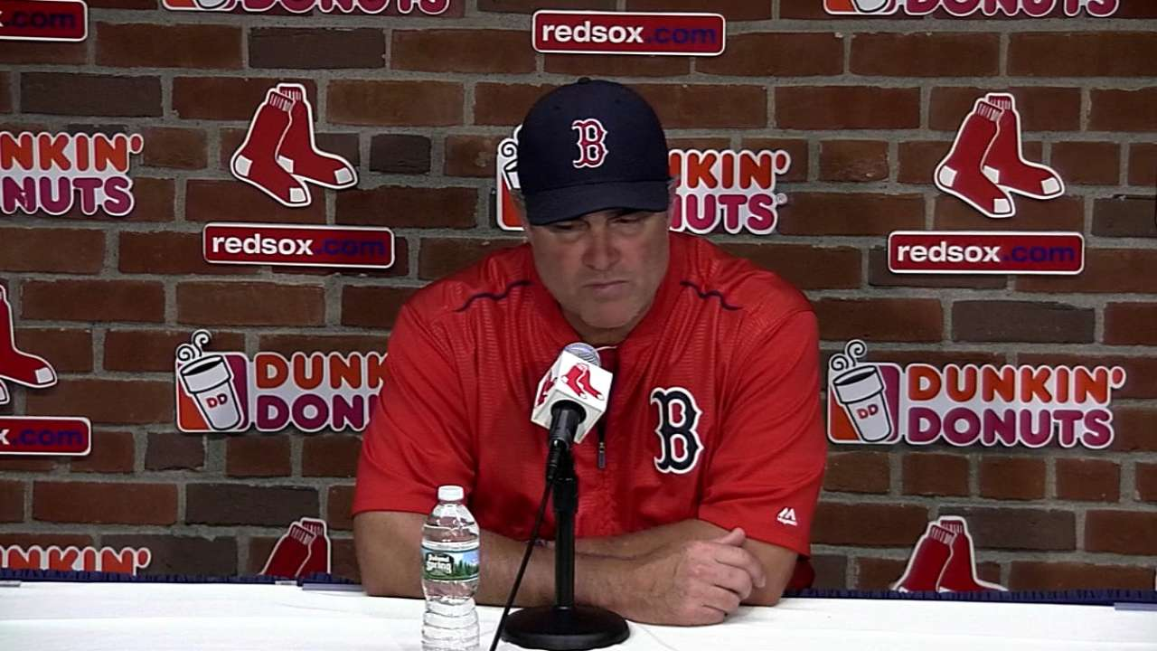 Farrell on loss to Tigers