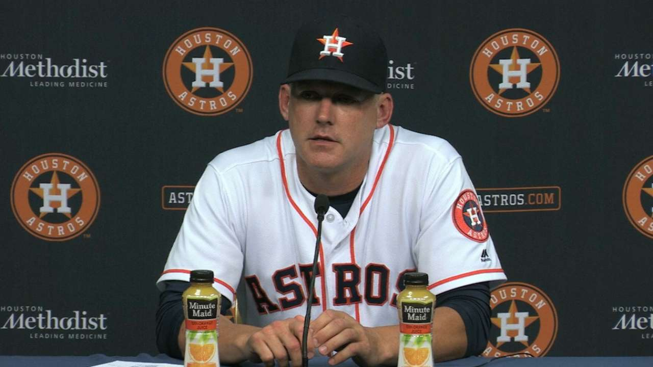 Hinch on 6-3 loss to the Yankees