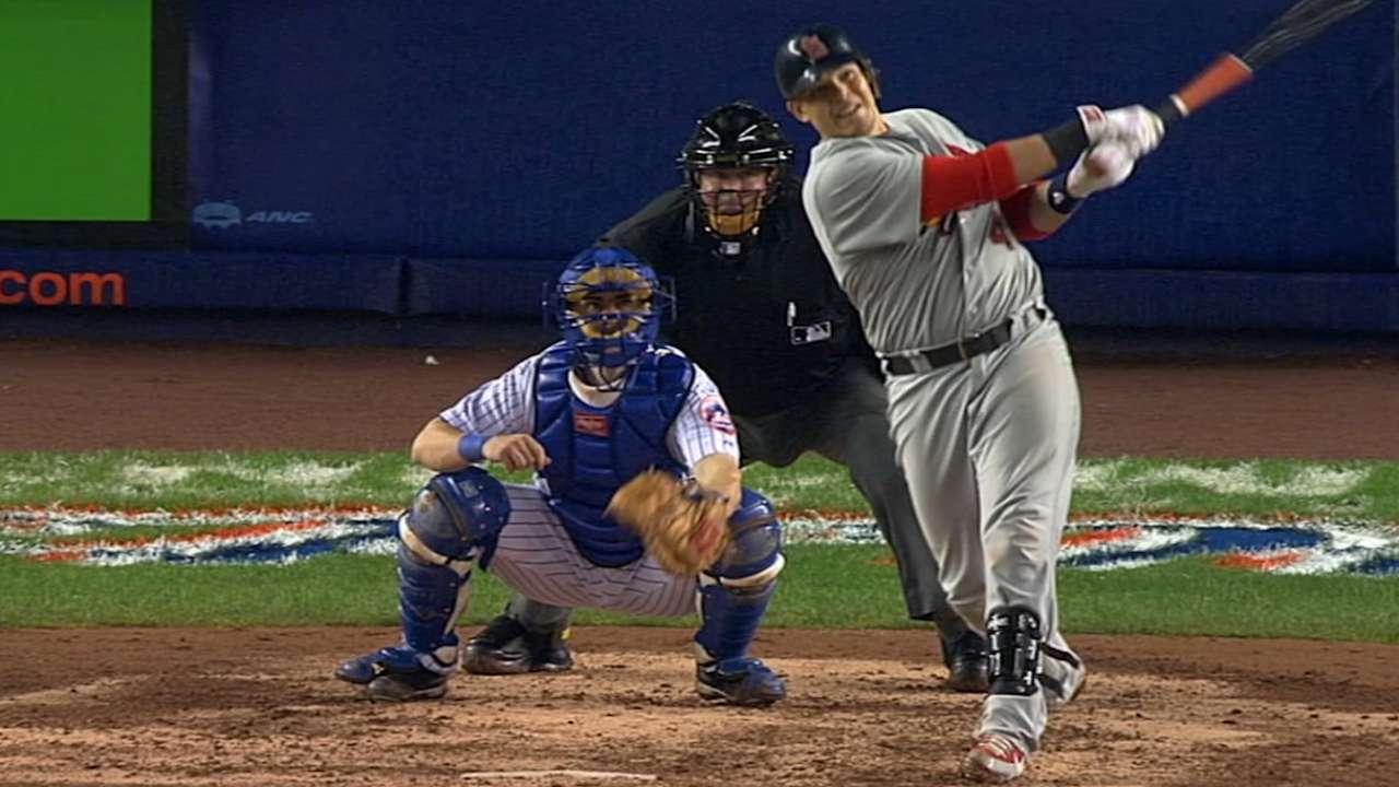 Yadier Molina's NLCS-winning bat