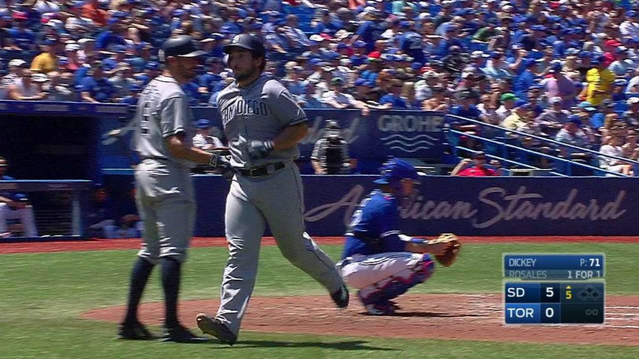 Wallace's solo homer