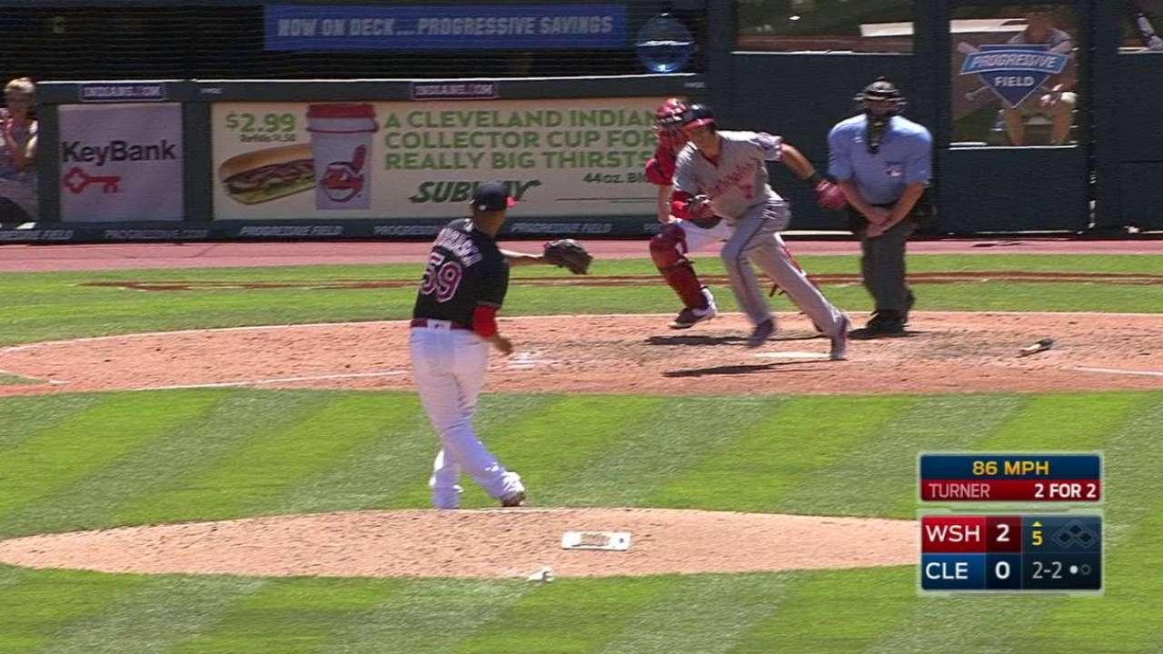 Carrasco's smooth fielding