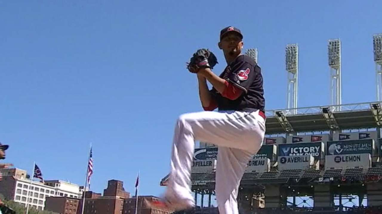 Command issues cost Carrasco, Cleveland