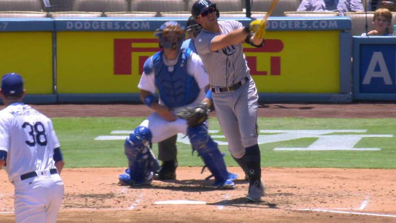 Longoria's two-run home run