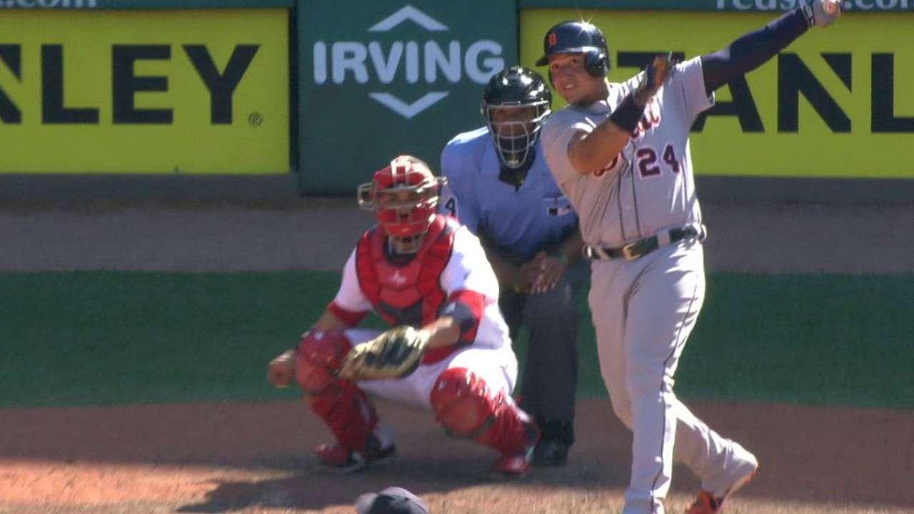 Cabrera's go-ahead solo home run