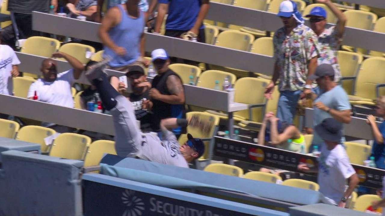 Morrison's falling catch
