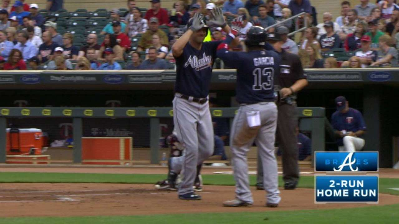 Francoeur's two-run home run