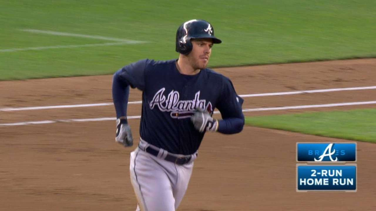 Freeman's two-run home run