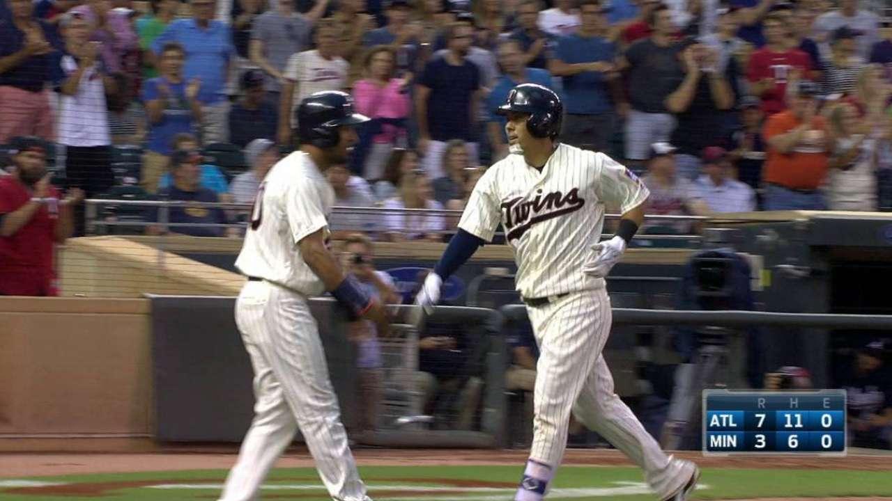 Suzuki's two-run home run