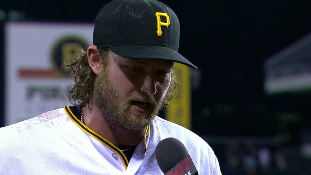 Cole talks about complete game