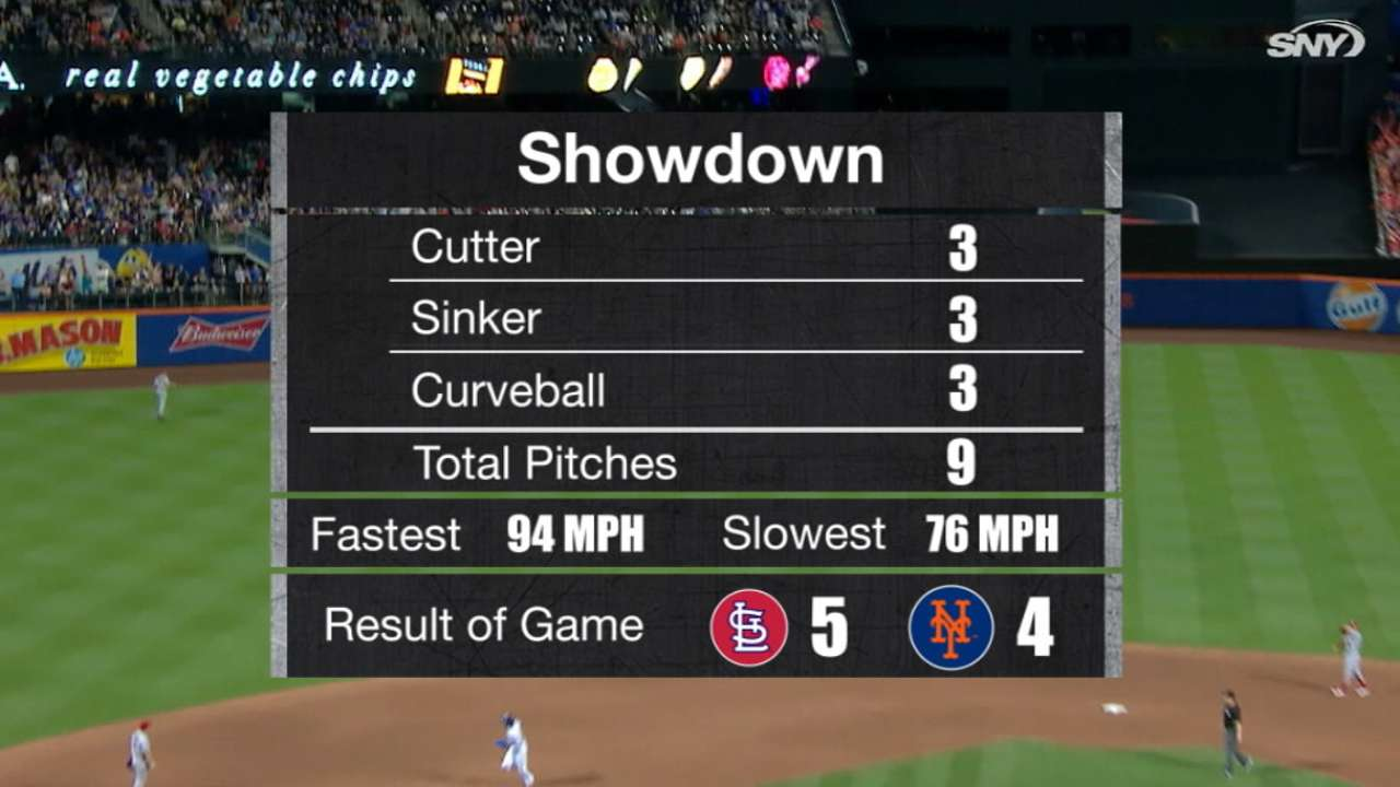 Cespedes' nine-pitch at-bat