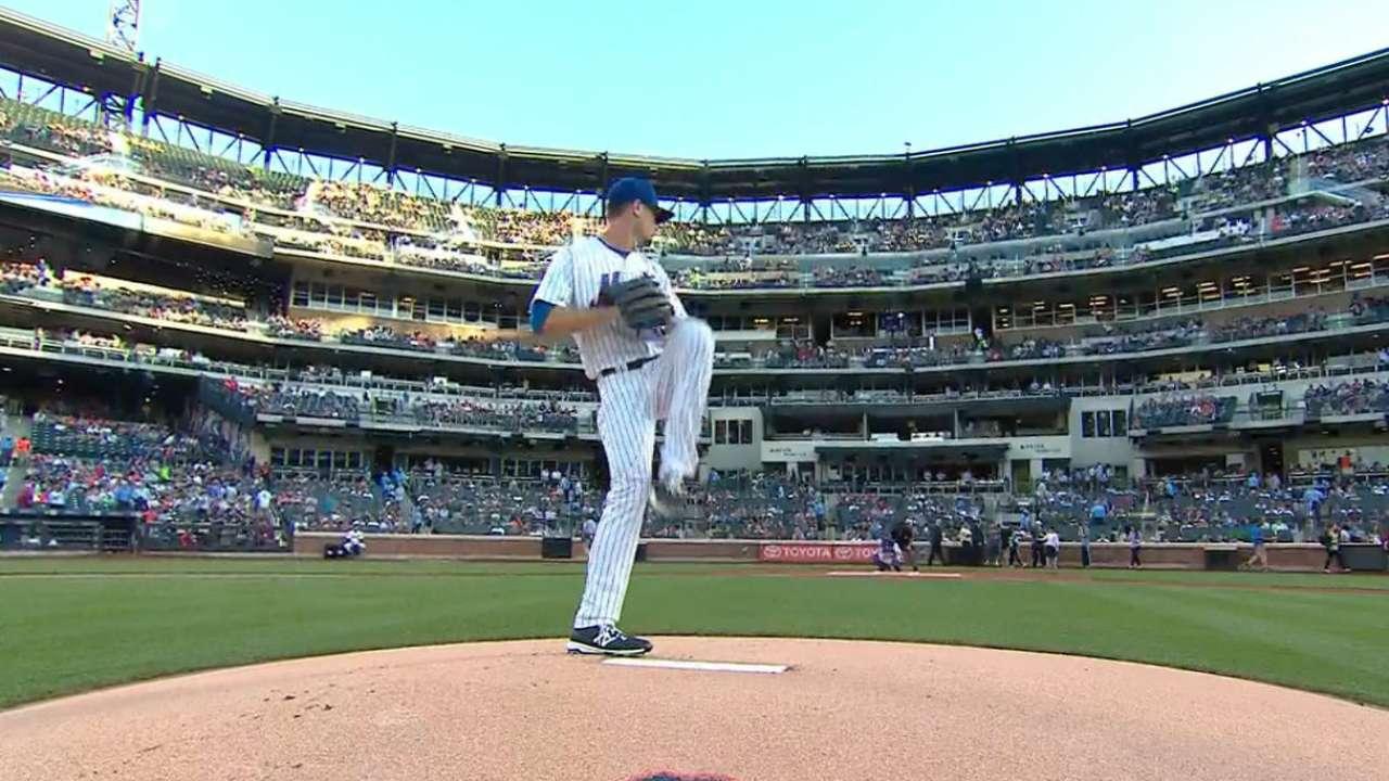 Mets to start Verrett on Friday vs. Padres